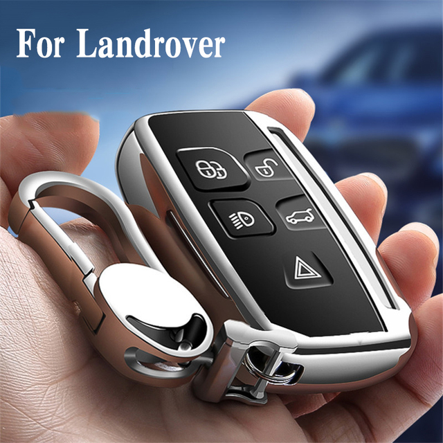 Hight quality TPU key case cover protective shell for Land Rover FREELANDER DISCOVERY RANGE ROVER Range Rover Evoque Jaguar