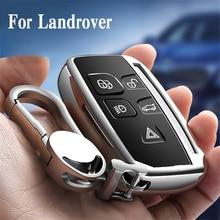 TPU высокого качества ключ чехол Обложка Защитная оболочка для Land Rover FREELANDER DISCOVERY RANGE ROVER Range Rover Jaguar