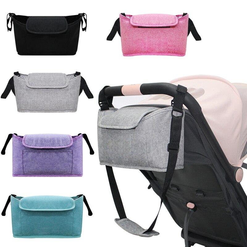 Stroller Bag Pram Stroller Organizer Baby Stroller Accessories Stroller Cup Holder Cover Trolley Organizer Travel Accessories