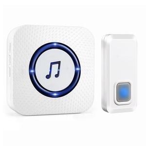 Door-Bell Chime Range-Alarm Ringtone Waterproof Home-Security Wireless 300M 55