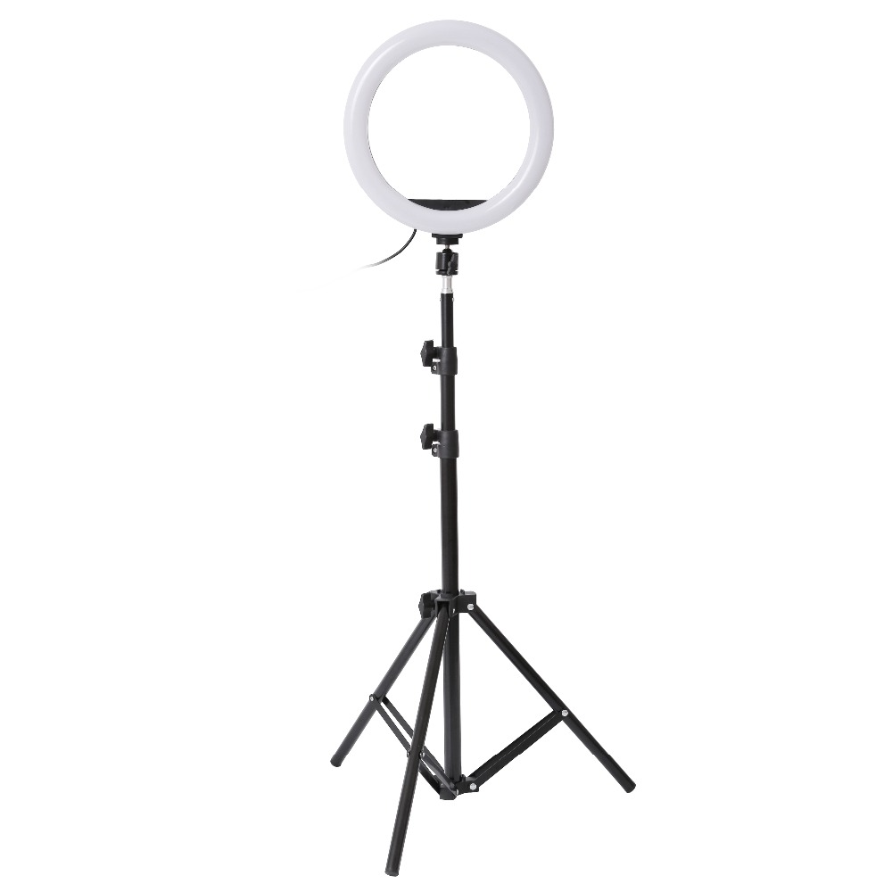 H146e68f915fe43ca9b25d5779ebb96a4m 26cm 33cm RGB Selfie Ring LED Light with Stand Tripod Photography Studio Ring Lamps for Phone TikTok Youtube Makeup Video Vlog