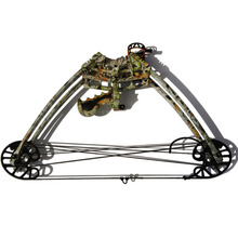 45lbs Archery Triangle Bow Camo Color Compound 1 Unit For Left And Right Hand Hunting