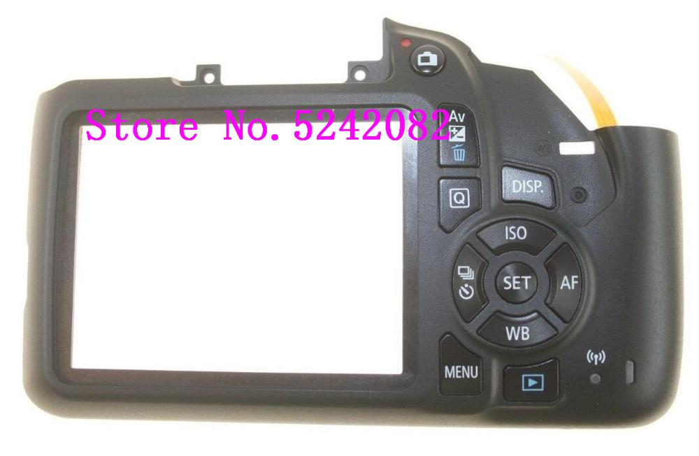 NEW Back Cover Assembly Units Function Keys For Canon FOR EOS 1300D Rebel T6 Kiss X80 Digital Camera Repair Part