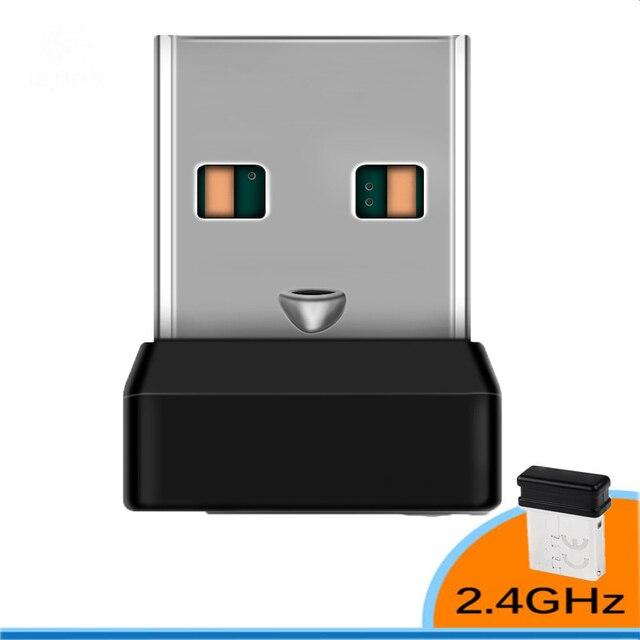 אלחוטי Dongle מקלט מאחד USB מתאם עבור עכבר מקלדת להתחבר 6 מכשיר עבור MX M905 M950 M505 M510 M525 וכו