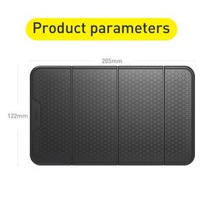 Image 5 - Baseus Car Phone Holder Universal Mobilephone Wall Desk Sticker Multi Functional Nano Rubber Pad Car Mount Phone Support
