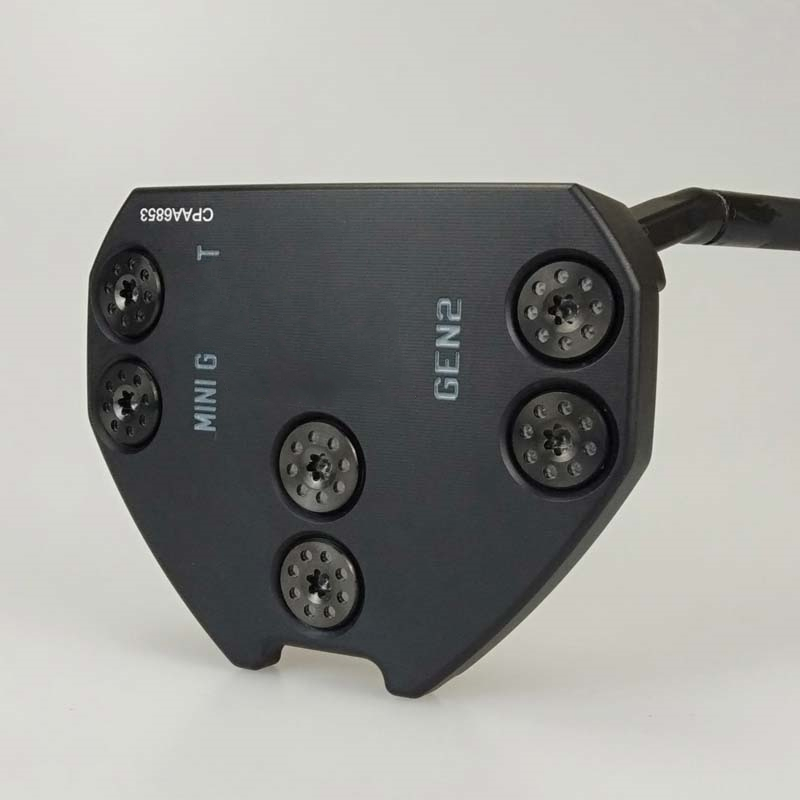 Black Mini GT Gen2 Putter Black Steel Shaft With Rod Cover Golf Putter Free Shipping