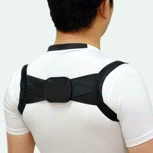 Quente unissex invisível volta ombro postura corrector orthotic coluna suporte cinto nov99