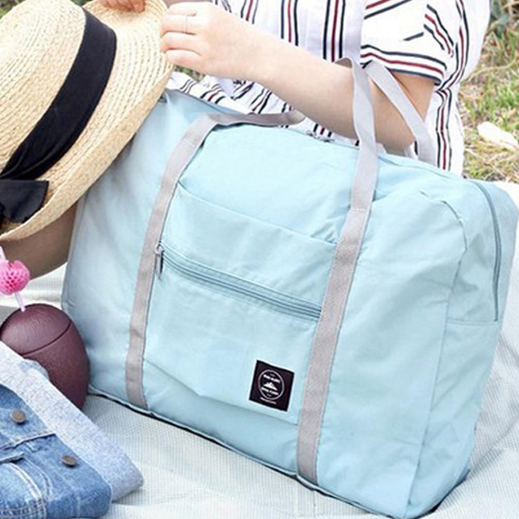 Aelicy 2020 New Foldable Travel Bag Unisex Large Capacity Bag Luggage Women WaterProof Handbags Men Travel Bags 1216