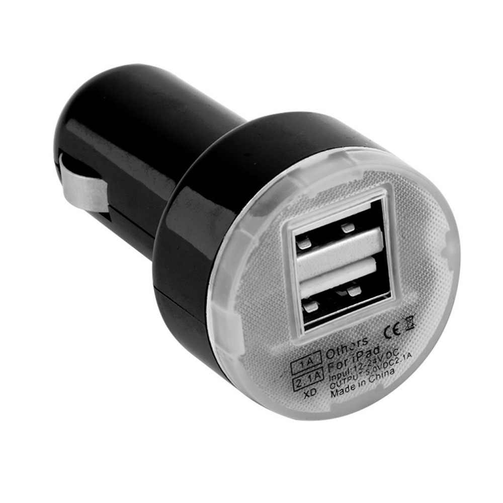 Adaptador de carregador usb para carro, com 2 portas de alta qualidade, para iphone 8/8plus 6s x, para ipod câmera venda quente