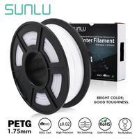 Sunlu PETG 3D Filamen 1.75 Mm 1Kg 2.2lb Penuh Warna PETG 3D Printer Filamen Dimensi Akurasi +/- 0.02 Mm 1Kg Spul 1.75 Mm