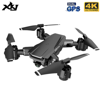 XKJ H3 RC GPS Drone With Electrically Adjustable 4K HD Camera 5G Wifi Image Transmission Foldable Quadcopter Height Hold Dron