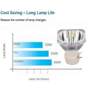 Image 3 - Compatible proyector lámpara VLT EX240LP para Mitsubishi EX200U EX240U EX270U EW270U ES200U EW230U ST EX240LP EX230U GW 375