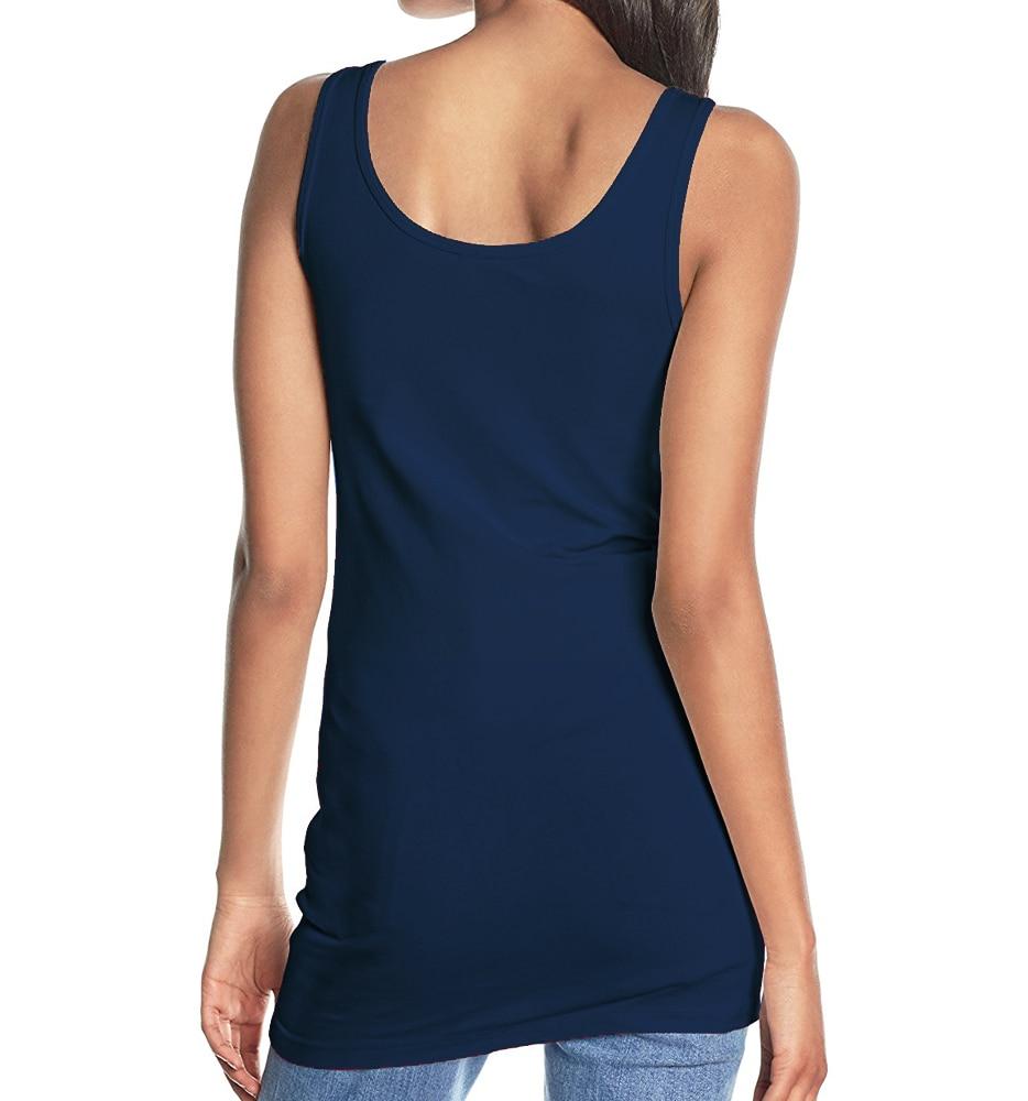 Летний женский жилет, 100% хлопок, эластичные майки, молодежные длинные футболки без рукавов