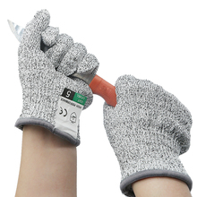 Safety Anti Cut Gloves Cut Proof Stab Resistant Stainless Steel Wire Metal Mesh Kitchen Butcher Cut Resistant Tactical Gloves