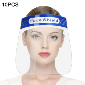10 шт., маски для лица, анти-туман, защита от капель, защита от пыли, защита для лица, защитная маска для глаз