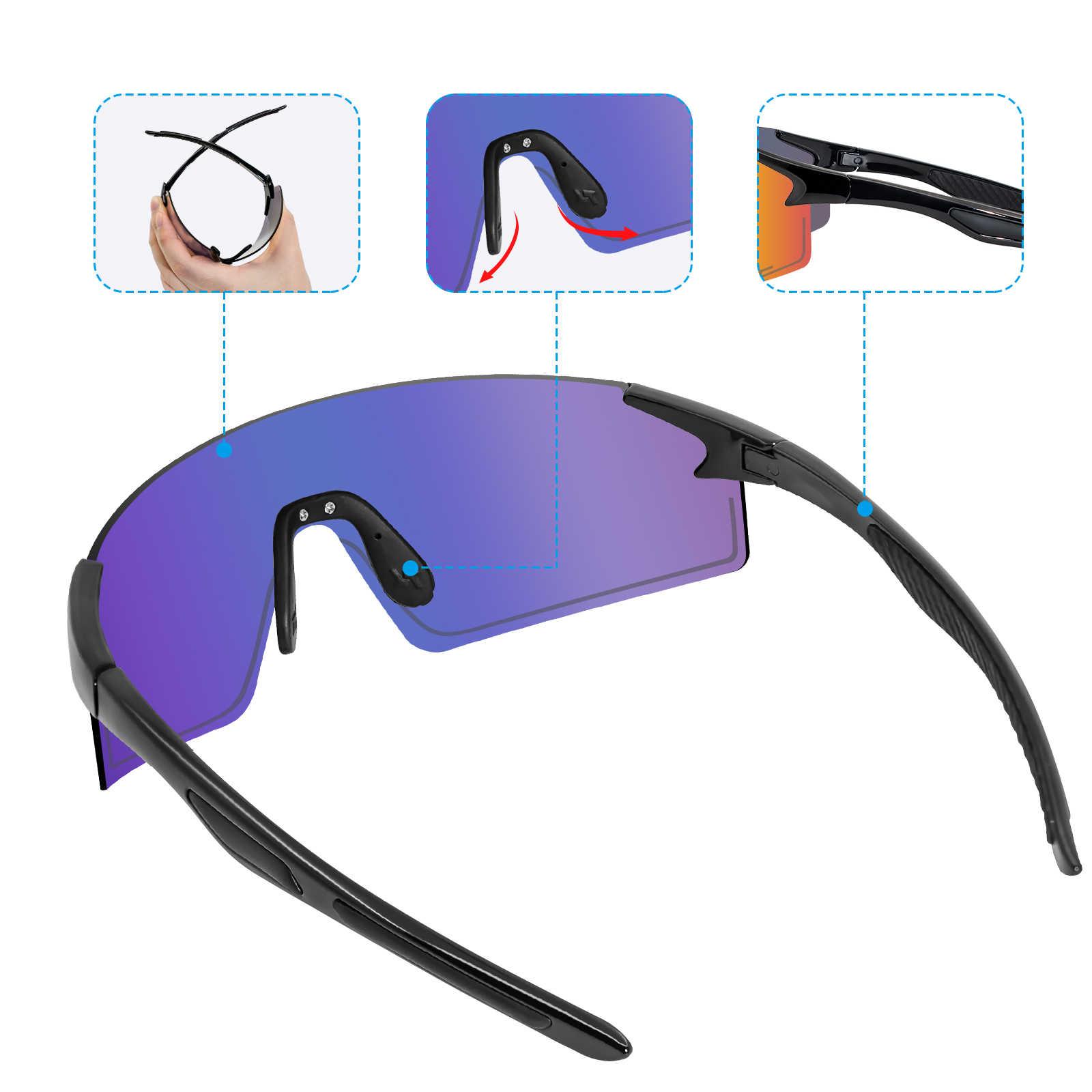NRC велосипедные очки Дорожные спортивные Для мужчин солнцезащитные очки UV400 горный велосипед для езды на велосипеде защитные очки Велоспорт Для мужчин t