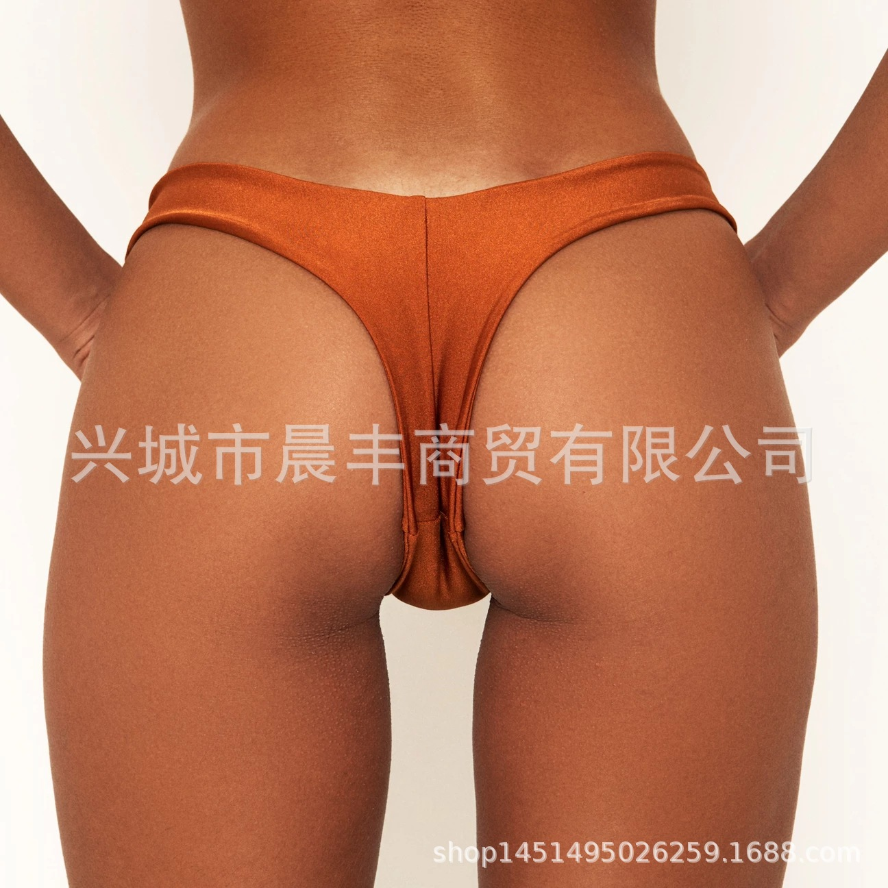 Plant Source 2020 Hot Selling Sexy Bikini Bathing Suit Solid Color Colorful Low-Rise Beach Mini Underpants