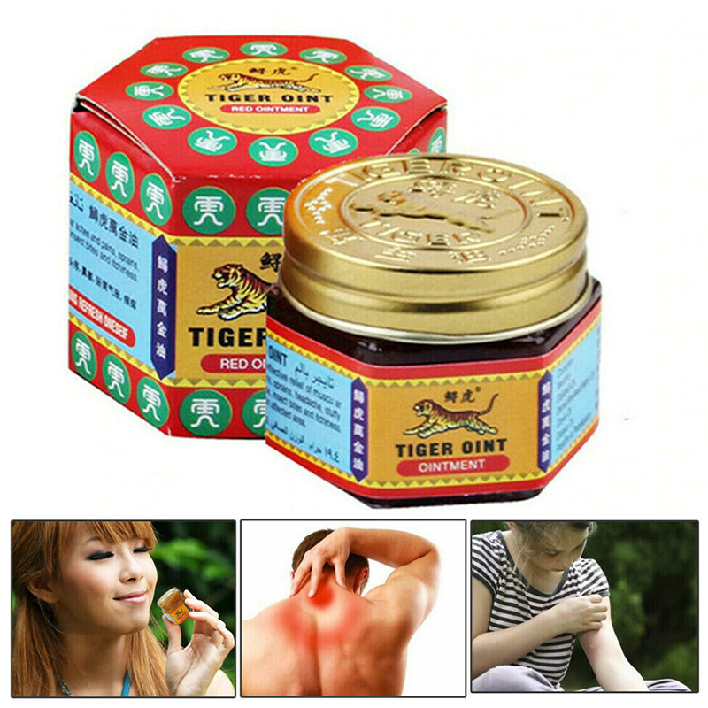 19g Tiger Balm Red Tiger Balm Massage Relief Muscle Ache Pain Soothe Itch Headache Dizziness Essential