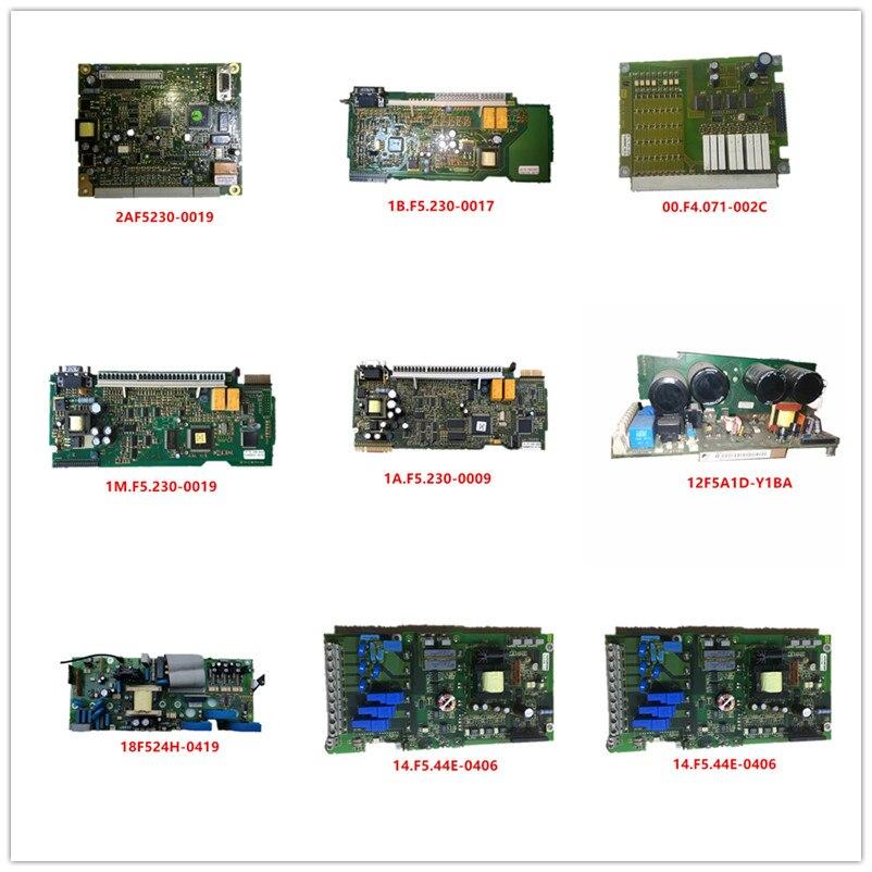 2AF5230-0019| 1B.F5.230-0017| 00.F4.071-002C| 1M.F5.230-0019| 1A.F5.230-0009| 12F5A1D-Y1BA| 18F524H-0419| 14.F5.44E-0406 Used