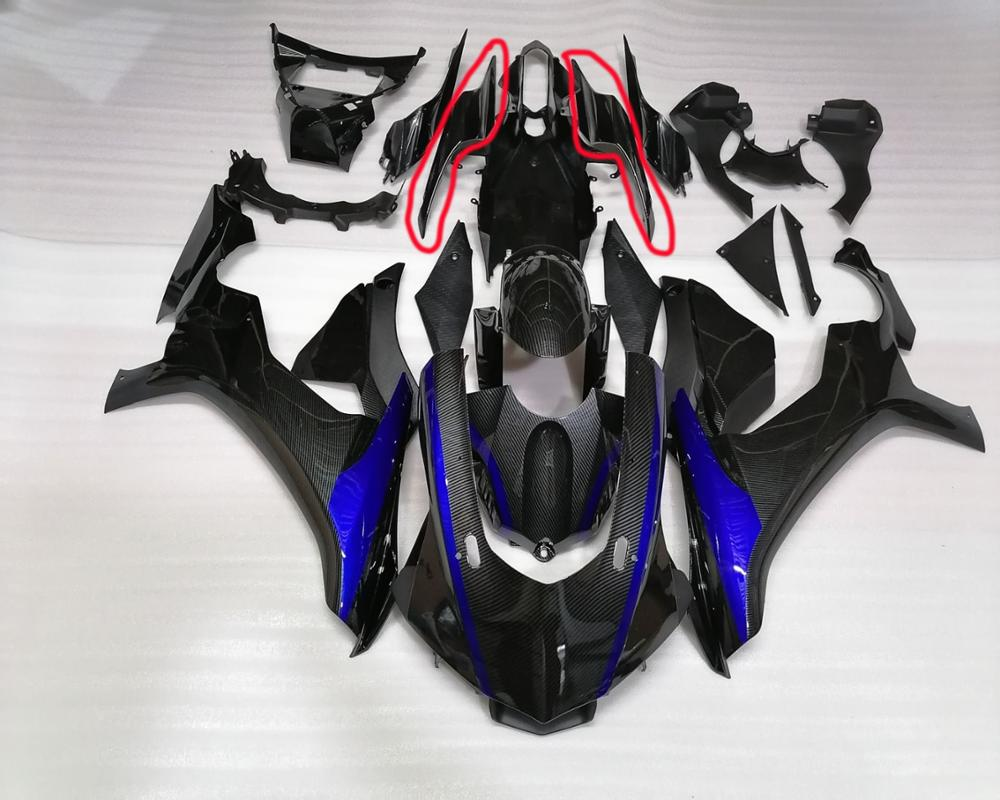 A Pair For ABS Plastic Rear Tail Pillion Cowl Fairing Body Tail Cover For Yamaha YZF R1 2015 2016 2017 2018 2019
