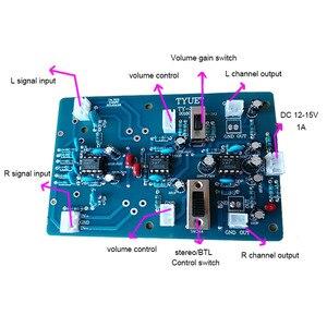 Image 5 - Lusya Two channel balanced preamplifier input board stereo gain input BTL bridge board T0865