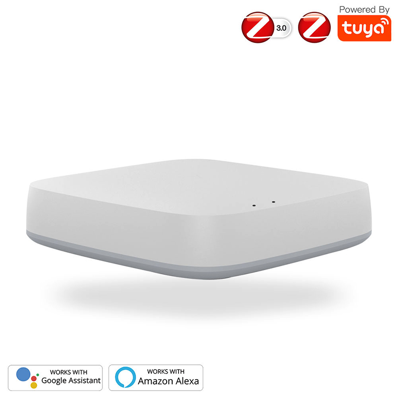 ZigBee 3.0 Smart Gateway Hub Smart Home Bridge Tuya/Smart Life APP Wireless Remote Controller Works With Alexa Google Home
