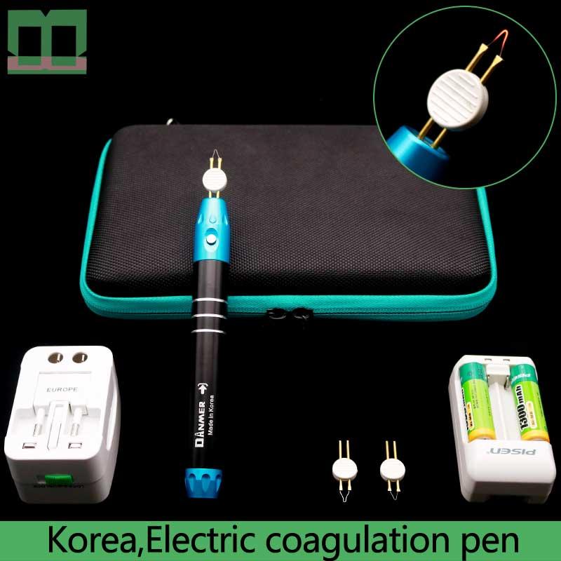 Electric Coagulation Pen Rechargeable Batteries Cosmetic Plastic Surgery Equipment Microvascular Hemostasis Electrocoagulator