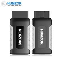 Humzor NexzDAS ND106 블루투스 특수 기능 ABS, TPMS, 오일 리셋, DPF 용 Android 및 ios의 재설정 도구