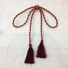 Твердый шнур кисточки Хлопок Веревка для занавески s шитье одежды и ткань занавески декоративные домашний текстиль гостиная