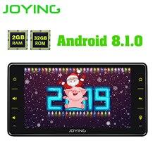 Joying العالمي راديو السيارة الاندورويد واحد 1 الدين سيارة مشغل وسائط متعددة 6.2 بوصة 2G Ram الفيديو رئيس وحدة Carplay WIFI بلوتوث DVR