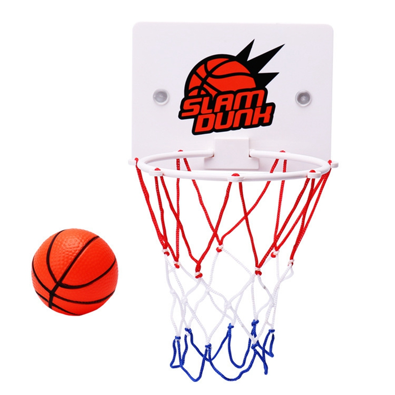 NEW-Children'S Outdoor Indoor Wall-Mounted Basketball Hoop Game Toys Slam Dunk Toy Set Men'S And Women'S Sports Toys Gifts