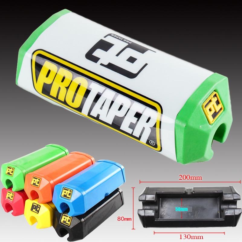 Pit Dirt Bike Handlebar Pads For Pro Taper 2 0 Square Fat Bar Cheat Pad Metal Mulisha Handlebar Protector Chest 22cm 28cm
