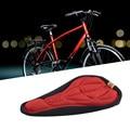 3D мягкое велосипедное седло для велосипеда  велосипедное Силиконовое сиденье  коврик  наволочка для сиденья  седло  Аксессуары для велосипе...