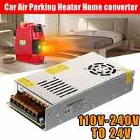 Controlador del interruptor de la fuente de alimentación para tira de luces LED, convertidor de aire para estacionamiento de coche, 12V, 24V, 110-240V, 250W
