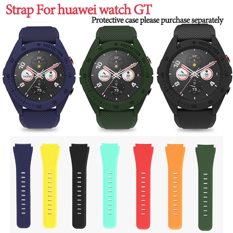 Silicone Sport Band For Huawei GT Watch Active Bands 22mm Band Bracelet For Honor Watch Magic Wrist Straps Bands Wrist Strap