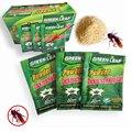 Порошок для уничтожения тараканов, Отпугиватель приманок с зелеными листьями, ловушка для борьбы с вредителями, 10 упаковок