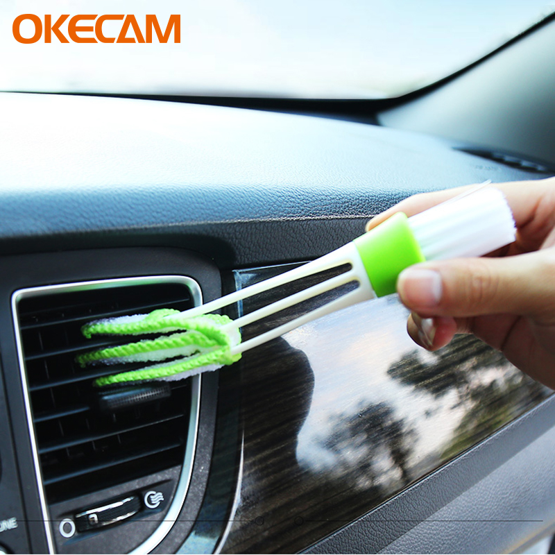 Car Air-Condition Vent Outlet Cleaner For Smart Fortwo Forfour 453 451 450 452 Crossblade City-Coupe Roadster Car Cleaning Brush