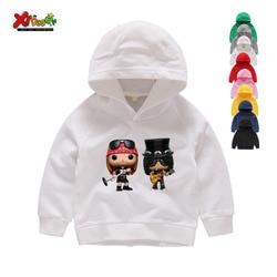 Rosa e armas hoodies banda topos guns n rosas vestuário hoodies e camisolas engraçado hip hop menino menina dos desenhos animados hoodies camisolas