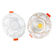 Super Bright LED COB Downlight  Recessed  5W 7W 9W Warm White/Natural White/Cold White LED Ceiling Spot Light AC110V 220V