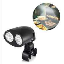 Outdoor Night Light BBQ Touch Sensitive Switch Grill 3 Level Brightmess LED Bike Camping Kitchen Barbecue Lights