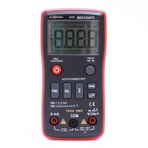 Image 5 - RM409B/RM408B True RMS 디지털 멀티 미터 버튼 아날로그 막대 그래프로 9999/8000 카운트 AC/DC 전압 전류계 전류 옴 자동