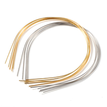 Headband-Accessories Hair-Hoop-Settings Beading Base Jewelry Hair-Band Making-Findings