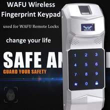 WAFU Wireless Fingerprint Keypad Password Controller 315Mhz for Remote Control WAFU Smart Door LockWF-018/WF-008(China)