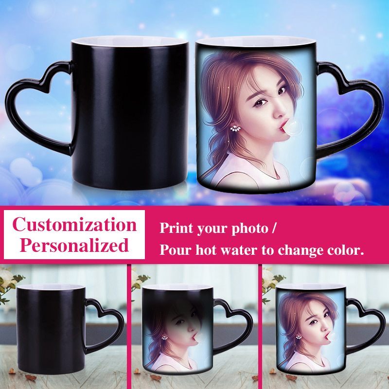Magic Cup Print Personalized Picture