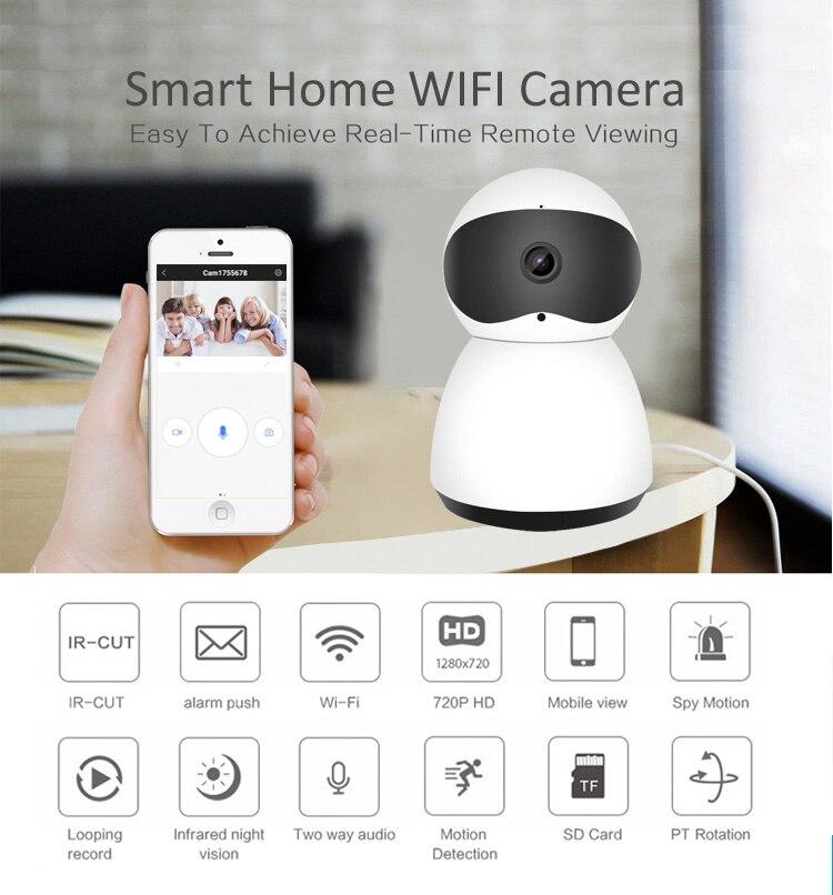 JPT, новый стиль, умный дом, безопасность, Беспроводная мини-камера, ясное ночное видение, детская камера, CCTV, беспроводная камера