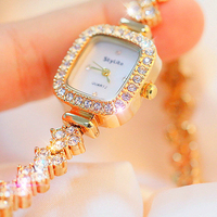 Rectangle dial Woman watches Shell dial Pearl watches Quartz watch dress bracelet diamond watches Small watches New Top Brand