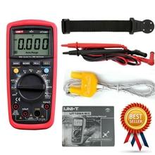 UNI-T UT139C unidad multímetro Digital Auto de la gama de valores eficaces verdaderos medidor de condensador de mano con un soporte magnético lazo Correa