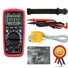 UNI-T UT139C UNIT Digital Multimeter Auto Range True RMS Meter Capacitor Tester Handheld With A Magnetic Hanger Loop Strap