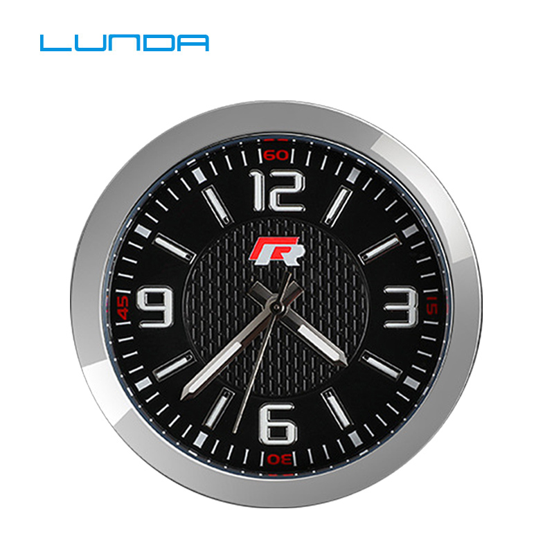 Car Clock Watch Electronic Watch Time Decoration Central Control Modified Clock For Audi Sline For BMW IIM FOR Mercedes AGM Etc.