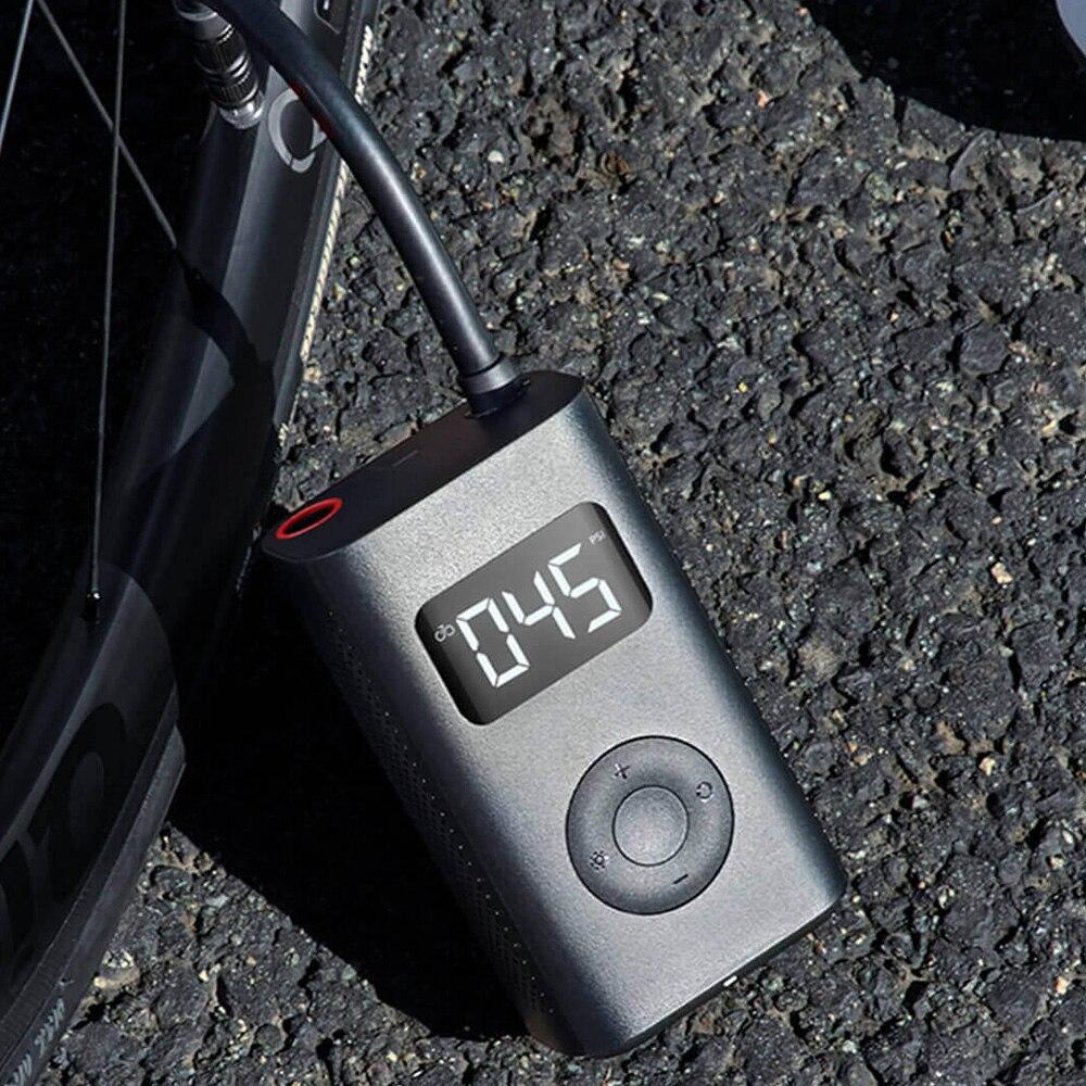 Xiao mi mi jia Portable intelligent numérique détection de pression des pneus pompe de gonflage électrique pour vélo moto voiture Football